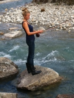 katie fly fishing
